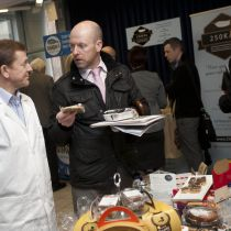 Dublin Food Producers enjoying the DFC Producer Showcase in DIT Jan 29 2015